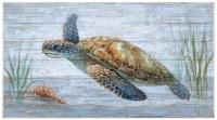 """22"""" x 40"""" Turtle Slate Wall Plaque"""