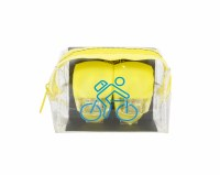 Yellow Bike Light Set