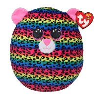 """14"""" TY Squish-A-Boos Dotty The Leopard"""