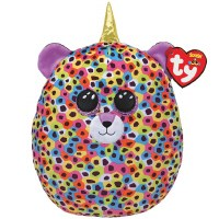 """14"""" TY Squish-A-Boos Giselle The Leopard Unicorn"""