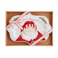 """8"""" x 11"""" Santa Face Platter"""