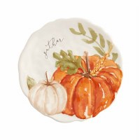 """8"""" Round Pumpkins Plate"""