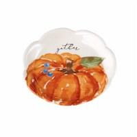 """4"""" Round Gather Pumpkin Dish"""