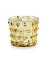 "2.75"" Gold Dotted Votive"
