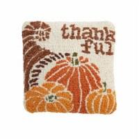 "8"" Square Thankful Pillow"