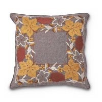 """17"""" Square Fall Leaves Pillow"""