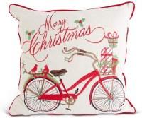 "16"" Square Christmas Bike Pillow"