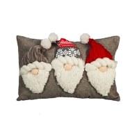 "10"" x 16"" Three Gnome Pillow"