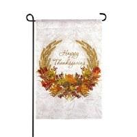 Mini Happy Thanksgiving Wreath Flag