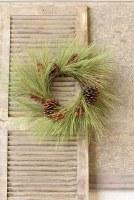 "24"" Long Needle Pine Candle Ring"