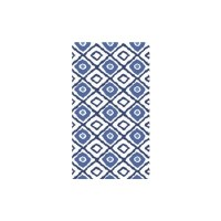 40 Count Blue Prints Guest Towel
