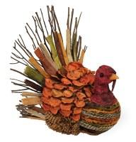 """9"""" Multicolor Twig Turkey"""