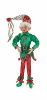 """16"""" Elf With Red Pants"""