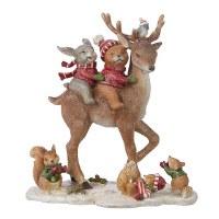 "10"" Animals On Deer"