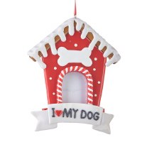 "5.5"" Dog Frame Ornament"