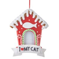 "5.5"" Cat Frame Ornament"