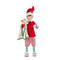 "16"" Elf In Pajamas"