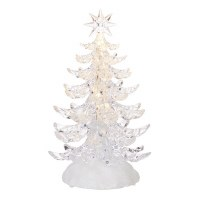 """9.5"""" LED Clear Tree With Branches"""
