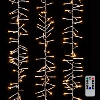 19.6' LED 600 White Light Wire With Remote