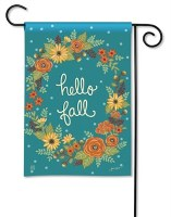 Mini Hello Fall Flag