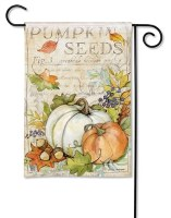 Mini Pumpkin Seed Flag