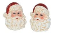 Santa Head Salt & Pepper Shakers