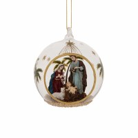 "3"" Holy Family In Ball Ornament"