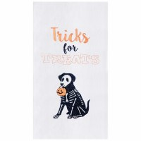 "27"" x 18"" Tricks For Treats Dog Kitchen Towel"