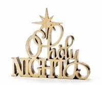"9"" O Holy Night Sign"