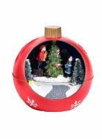 """4"""" LED Tree Orb Ornament"""