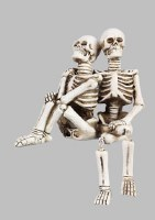 "5"" Skeleton Couple"