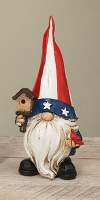 "6"" American Gnome With Bird"