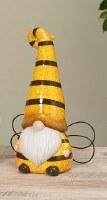"""10"""" Ceramic Bee Gnome"""