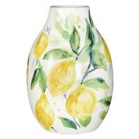"8"" Ceramic Lemon Vase"