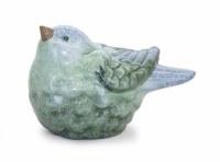 "4"" Blue and Green Bird Head Up"