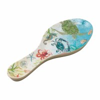 "10"" Sealife Melamine Spoon Rest"
