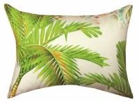 "13"" x 18"" Palm Leaf Pillow"