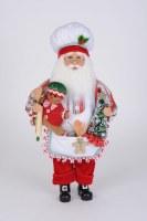 """17"""" Gingerbread Cookie Santa"""