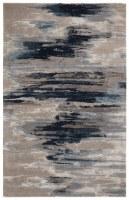 5' x 8' Dark Blue and Gray Genesis 40 Rug