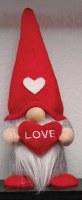"6"" Valentine Gnome With Love Heart"