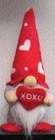 """6"""" Valentine Gnome With XOXO Heart"""