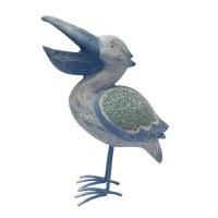 "10"" Blue Mosaic Pelican"
