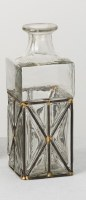"""9"""" Clear Glass and Iron Accented Vase"""