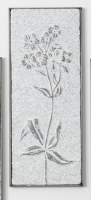 """23"""" Hammered Iron Seven Small Flowers Wall Plaque"""