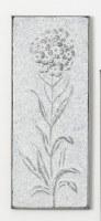 "23"" Hammered Iron Hydrangea Wall Plaque"