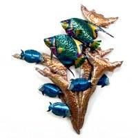 """28"""" Angelfish Reef Plaque"""