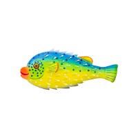 "14"" Metal Porcupine Fish"