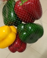 "3"" Assorted Bag of Faux Red, Green, and Yellow Peppers"