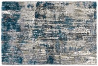 5.3' x 7.6' Blue and Gray Aspen Rug 2061L
