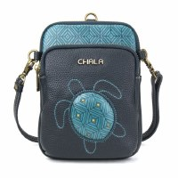 "8"" Turquoise Turtle Uni Cellphone Crossbody"